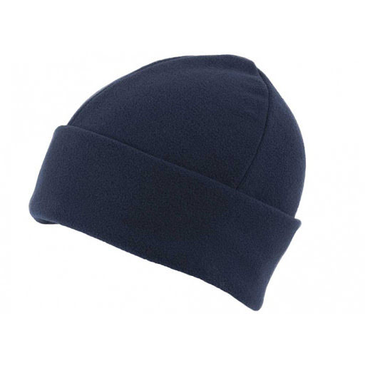 Fleece Beanie Hats - Black