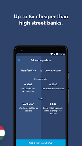 transferwise money transfer screenshot 3