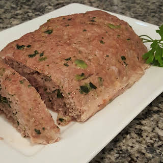 Italian Turkey and Spinach Meatloaf.