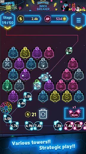 NeonMergeDefence 1.3.2 screenshots 5