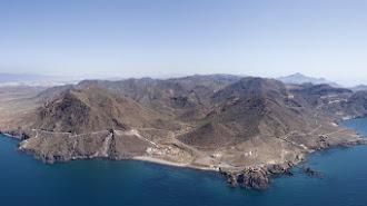 Foto de Cabo de Gata del centro de investigación de la UAL.
