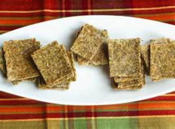 Hazelnut Biscuits (crackers)