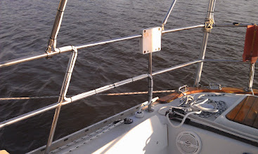 Photo: wire routing and deck fitting completed