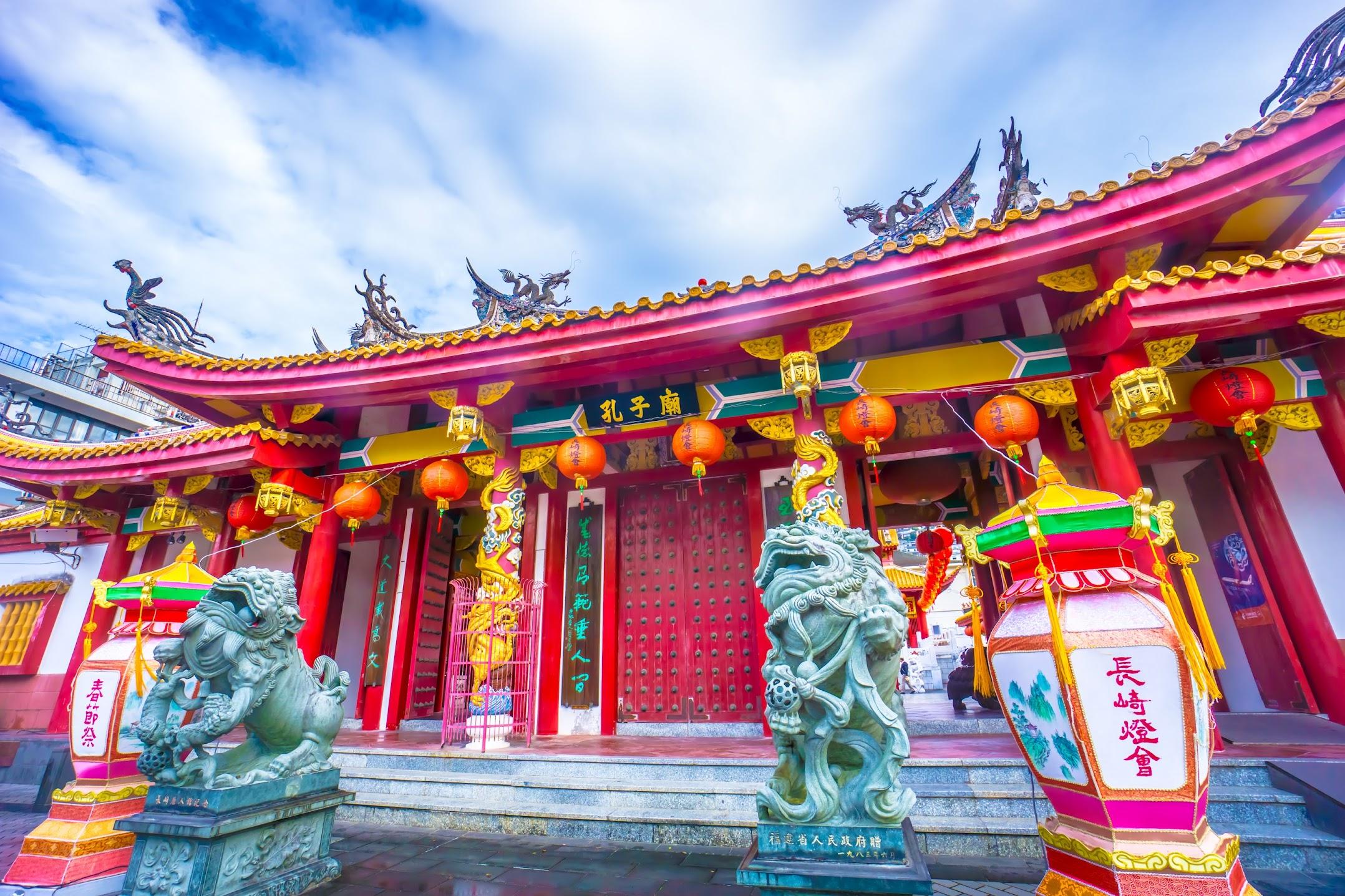 長崎孔子廟1