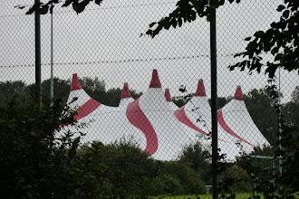 Photo: Grote tent voor Elsrock 27-08-2011.  Sportaccomodatie R.K.S.V. Elsmaten 1 Rijssen