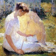 """Photo: William Orper, """"La lettrice"""" (1910)"""
