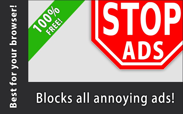 Stop Ads - Full Ad Blocking chrome extension