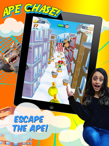 FGTeeV Ape Chase! 1.4.0 screenshots 8