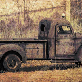 by Mike N Connie Holmes - Transportation Automobiles ( low contrast, medium quality, in focus,  )