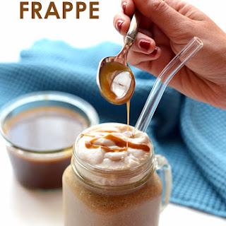 Paleo Salted Caramel Frappe.