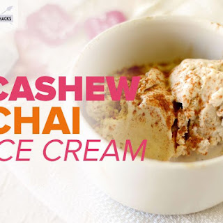 Cashew Chai Ice Cream.