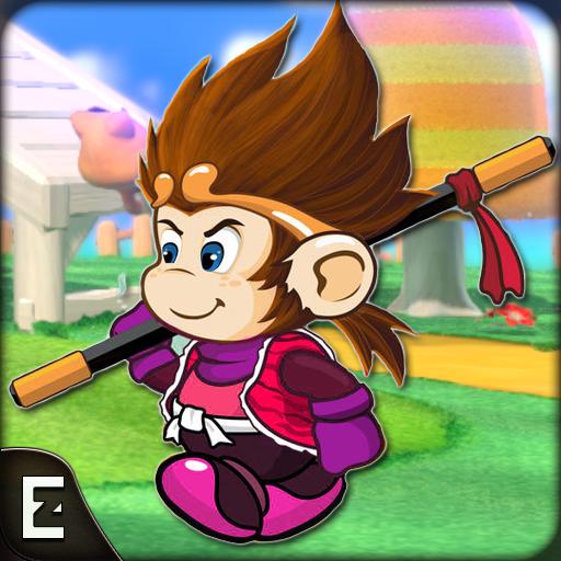 Super Kong Adventure Run: Side Scroller Games Free