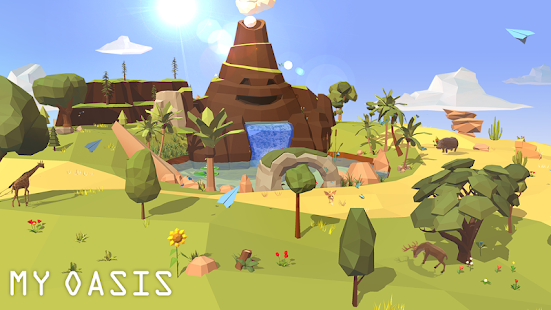 My Oasis - Tap Sky Island v1.2 APK Full