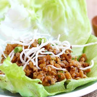 Lettuce Wraps (PF Chang's Copycat Recipe).
