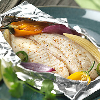 Foil Pouch Fish Fillets.