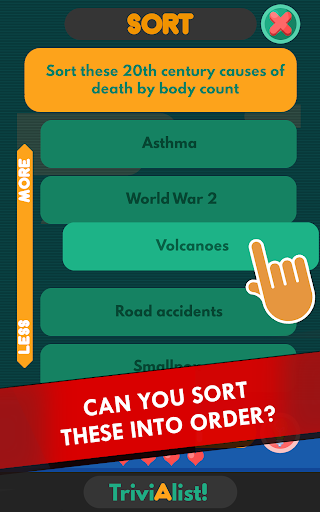 Trivialist —  Offline Trivia Quiz Game - screenshot