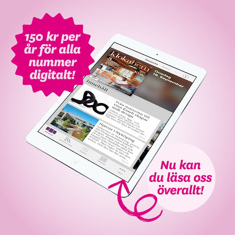 Kloka hem digitalt 1 år (prenumeration på app)