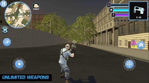 Marines Army Mafia Crime Simulator Fight 1.0 screenshots 3