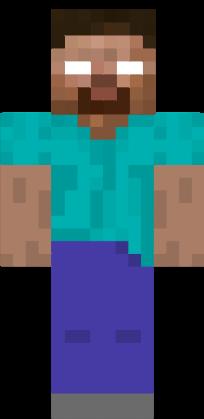 Minecraft Skin Herobrine Herobrine | Nova Skin