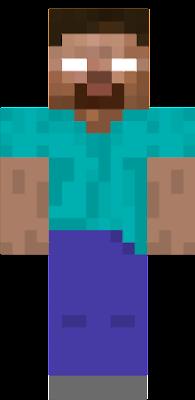 Herobrine Nova Skin - Skin para minecraft or
