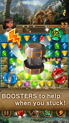 Jewels Atlantis: Match-3 Puzzle matching game cheat hacks