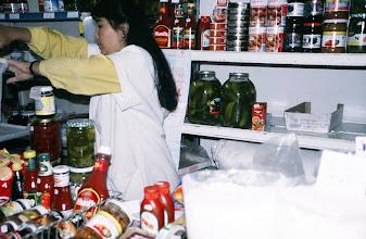 Photo: 03094 ウランバートル/風景/ダライ・エージ(海の母)/食料品専門の市場/ケチャップ/ピクルス