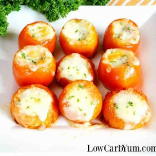Stuffed Tomatoes with Meat and Cheese Recipe