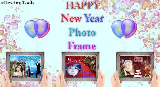 Happy New Year Photo Frame screenshot 0