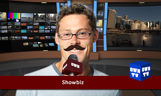 Media Photo Editor-Mic TV Glasses News Photo Frame - náhled