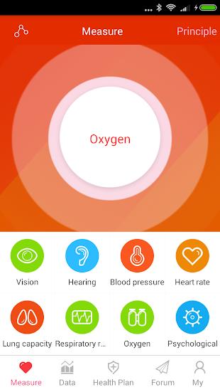 iCare Oxygen Monitor Pro- screenshot thumbnail
