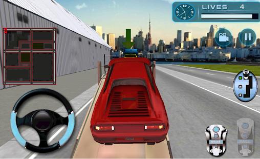 auto na převoz přívěs podvozek - náhled
