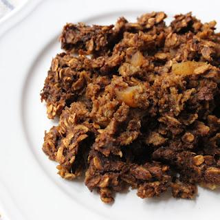 Gingerbread Oatmeal Bake