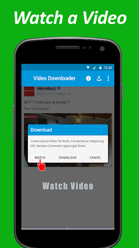 Video downloader for facebook 1.0 screenshots 4
