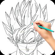 Draw Goku Super Saiyan - Steps by Steps