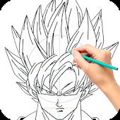 Draw Goku Super Saiyan Mod