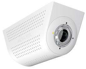 Photo: Mobotix SurroundMount for S15 FlexMount IP cameras - oblique view.