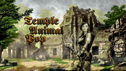 Temple Animal Pop - Run Escape