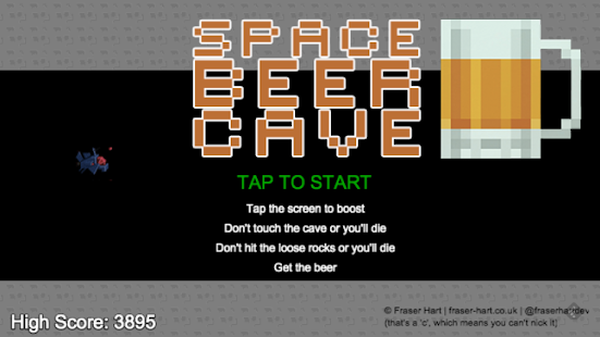 Space Beer Cave- screenshot thumbnail