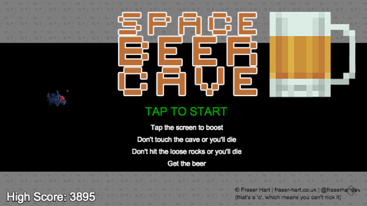 Space Beer Cave- screenshot