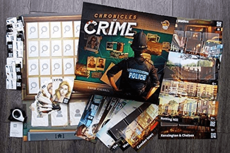 chronicles of crime game play area