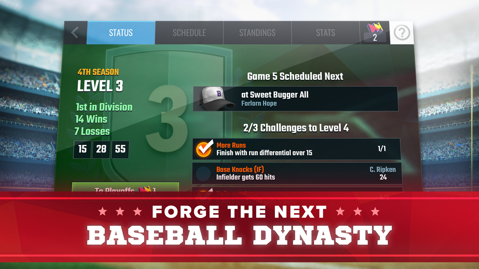 Franchise Baseball- screenshot