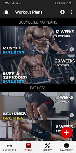 Workout Master - Pro Gym Trainer and Fitness Plan 1.1.4 screenshots 2