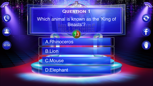 Millionaire Quiz 2018 - Trivia Game Free 2.3 screenshots 15