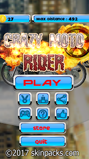 Crazy Moto Rider- screenshot thumbnail
