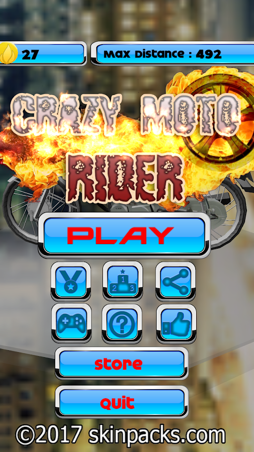 Crazy Moto Rider- screenshot