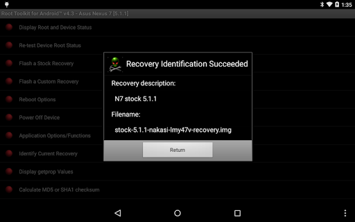 Root Toolkit for Android™ 5.0 screenshots 13