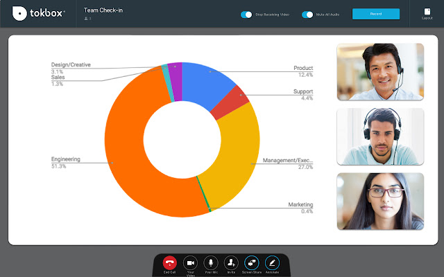 OpenTokRTC Screen Sharing