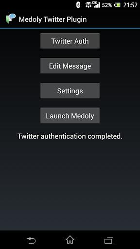 Medoly Twitter Plugin