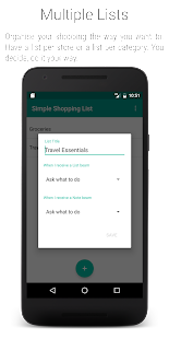 Simple Shopping List- screenshot thumbnail