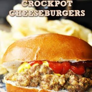 Crock Pot Cheeseburger Sandwiches.